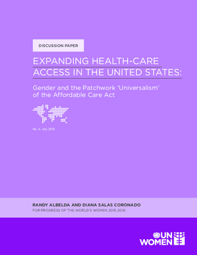 Expanding Health-Care Access in the United States: Gender and the Patchwork 'Universalism' of the Affordable Care Act
