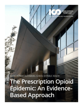 The Prescription Opioid Epidemic: an Evidence-Based Approach