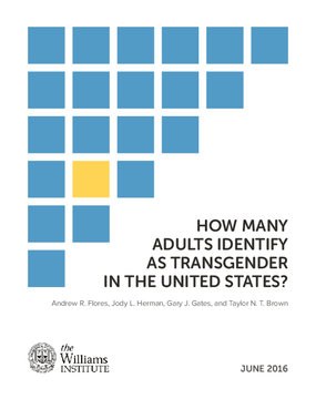 How Many Adults Identify as Transgender in the United States?
