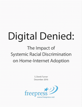 Digital Denied: Systemic Racial Discrimination on Home-Internet Adoption