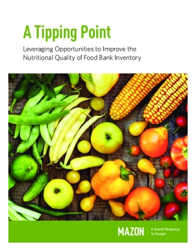 A Tipping Point: Leveraging Opportunities to Improve the Nutritional Quality of Food Bank Inventory