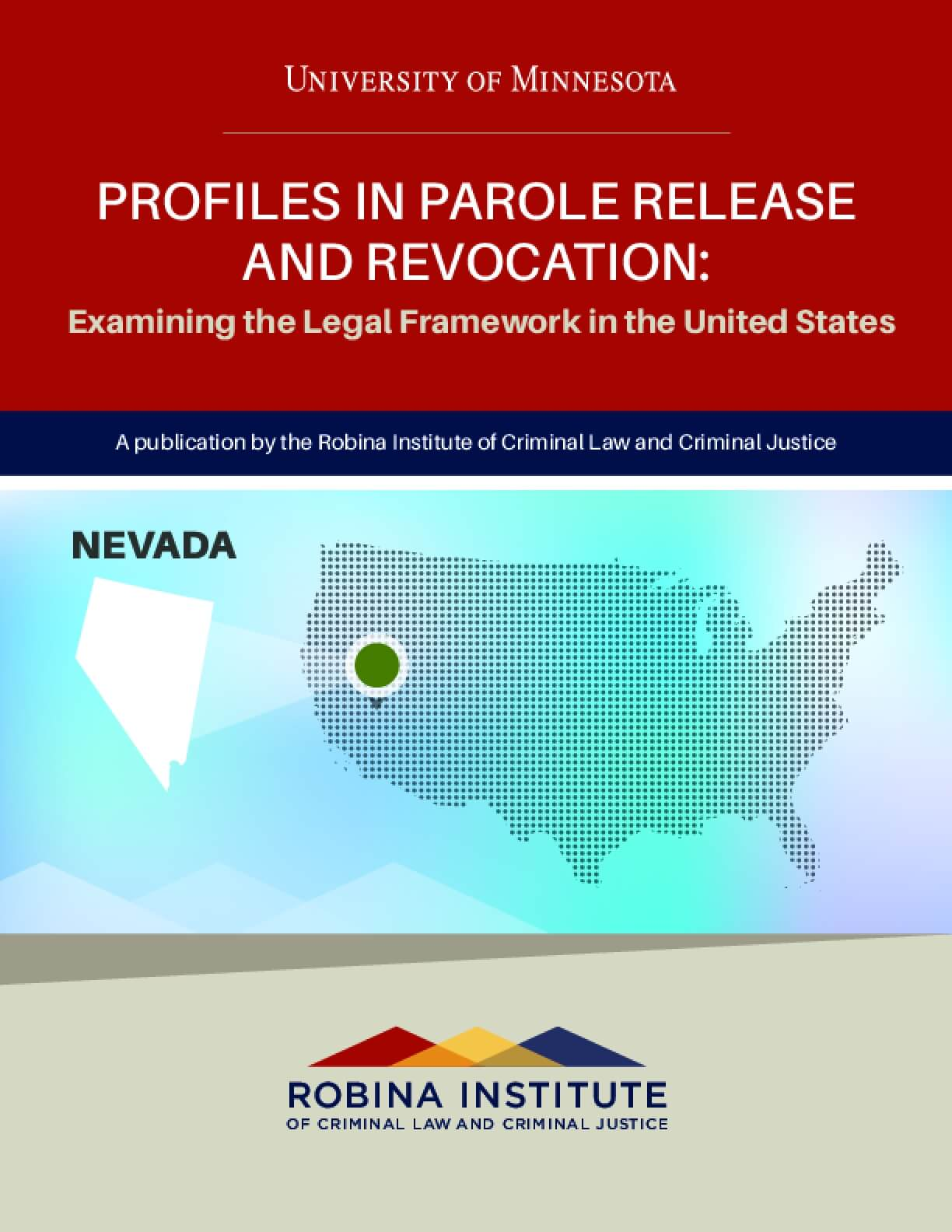 Profiles in Parole Release and Revocation Nevada
