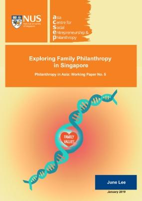 Exploring Family Philanthropy in Singapore