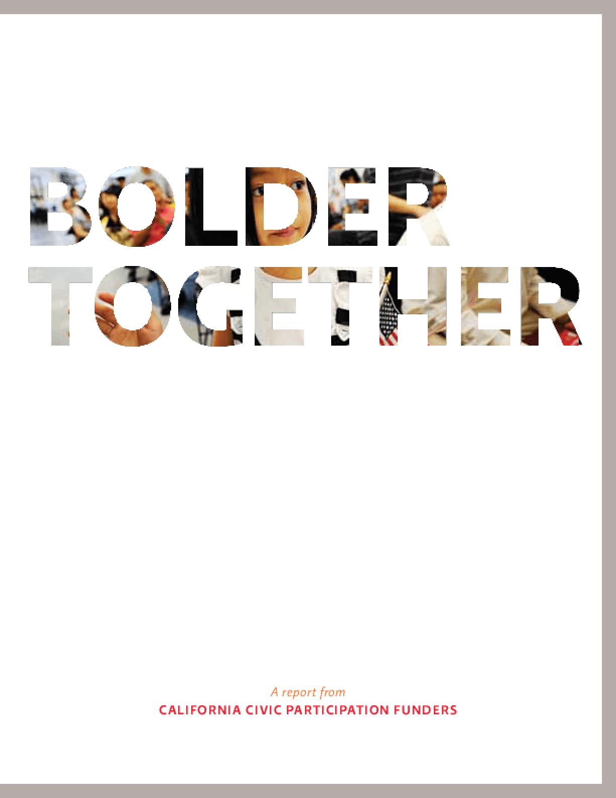 Bolder Together