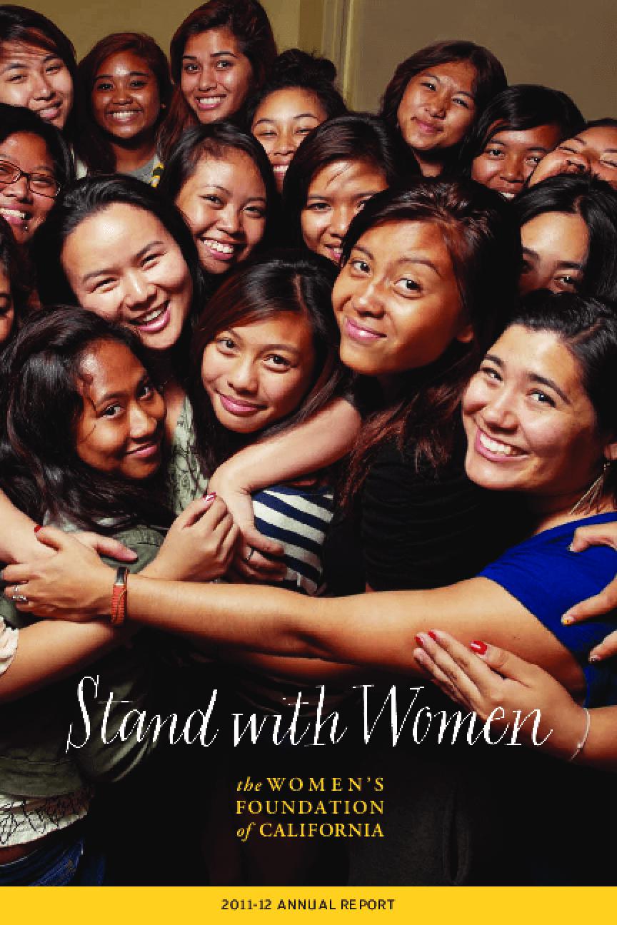 Women's Foundation of California, 2011-12 Annual Report