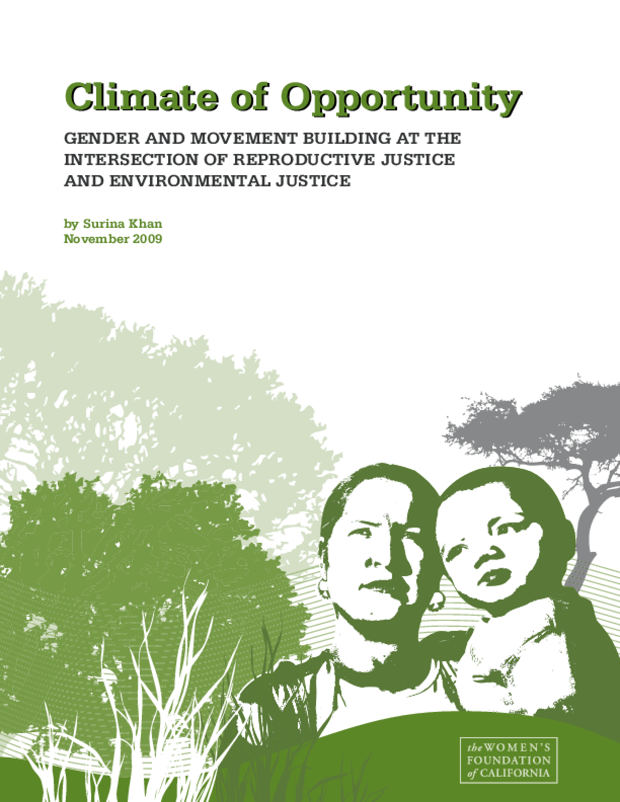 Climate of Opportunity: Gender and Movement Building at the Intersection of Reproductive Justice and Environmental Justice