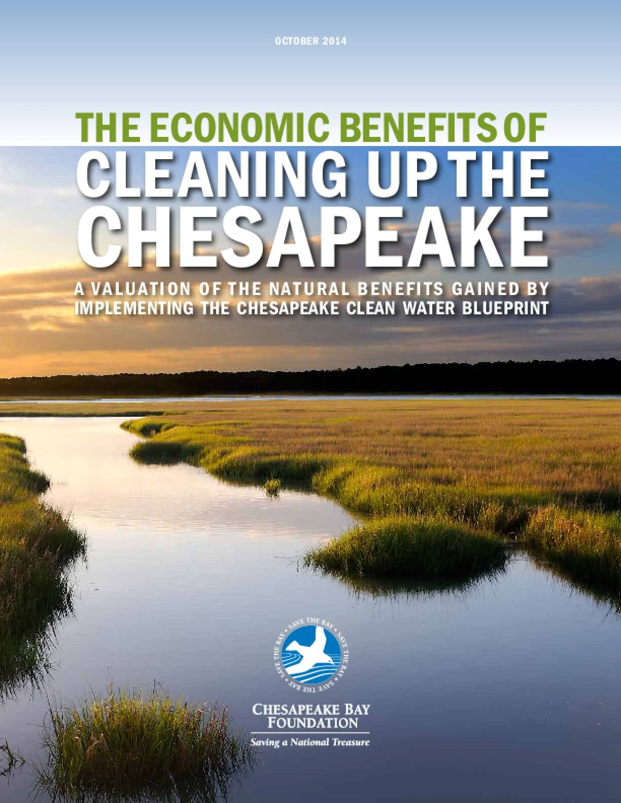 The Economic Benefits of Cleaning Up the Chesapeake