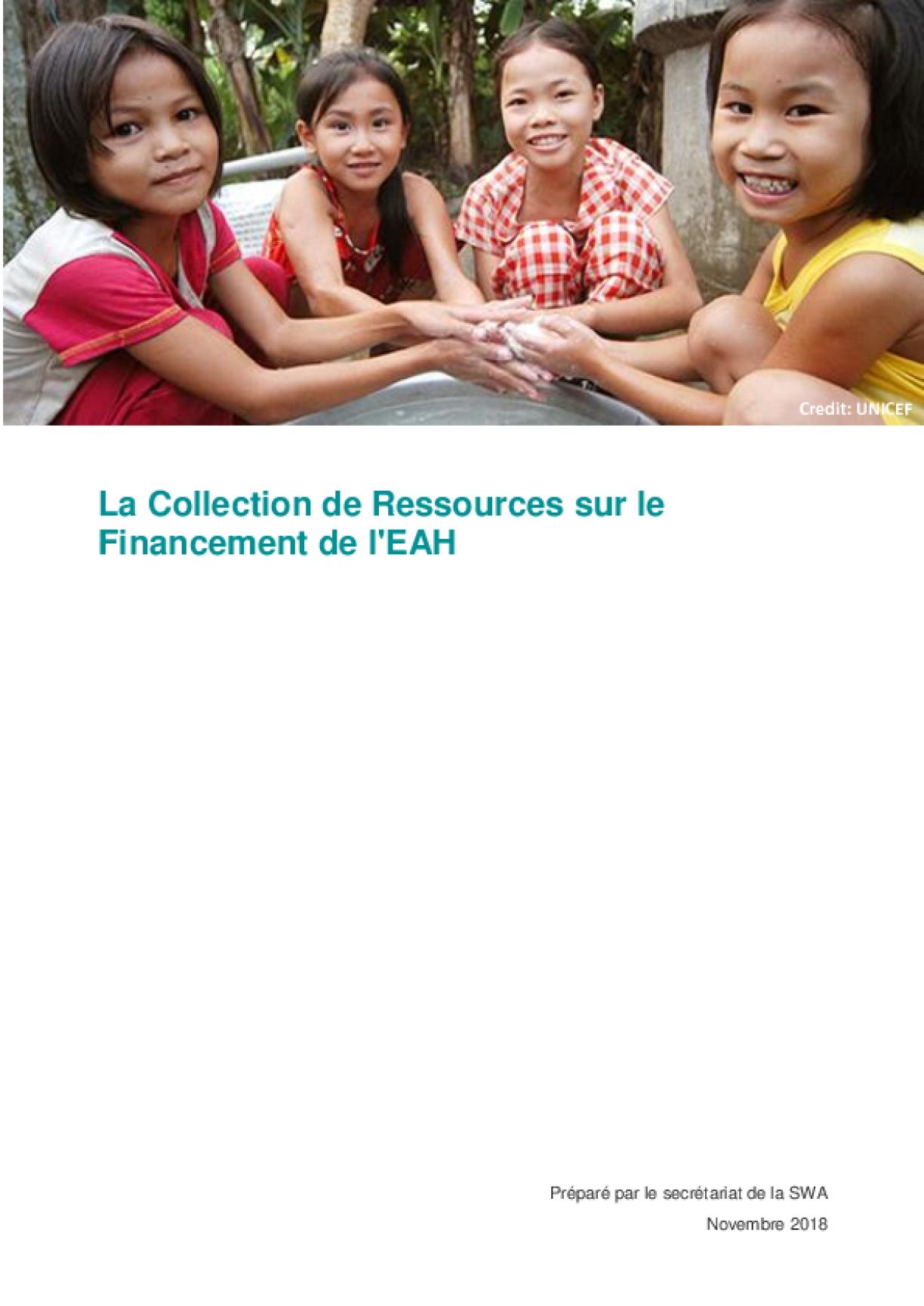 La Collection de Ressources sur le Financement de l'EAH