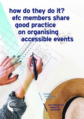 How Do They Do It? EFC Members Share Good Practice on Organising Accessible Events