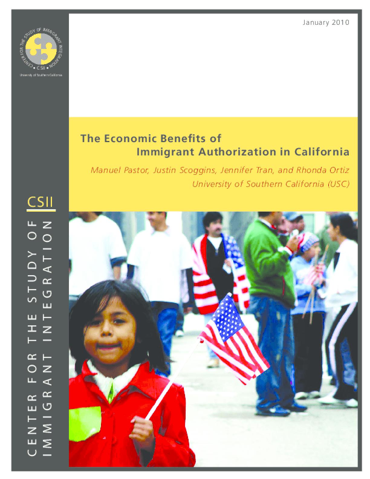The Economic Benefits of Immigrant Authorization in California